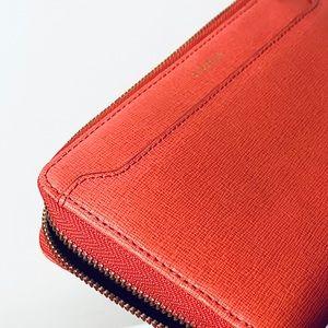 Furla Leather Zip Wallet